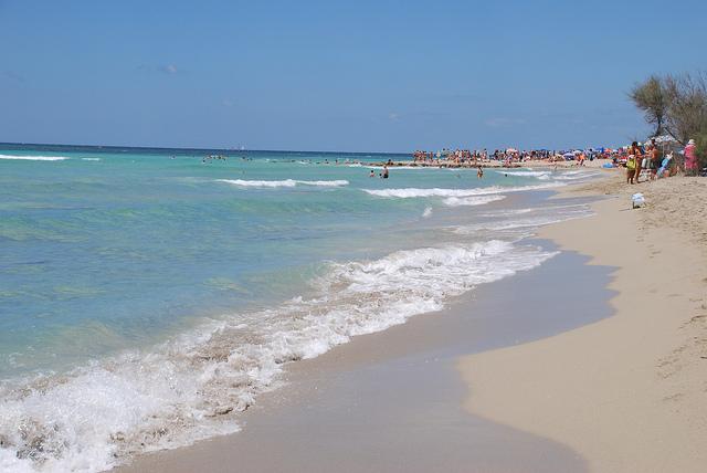 Foto spiaggia di Torre Mozza di Hari Seldon su Flickr